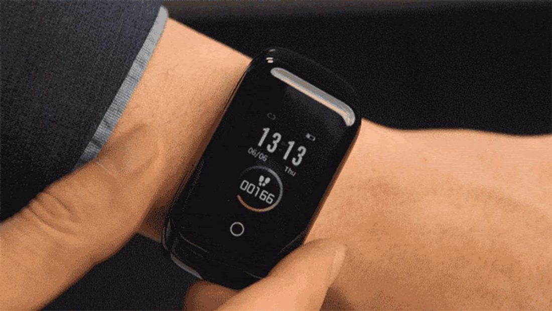 The company's goal is to create a device that makes active lifestyles more convenient (From: Wristbuds)